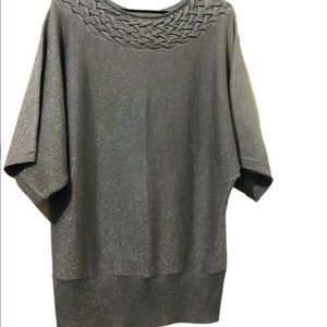 Vintage Miller's' Glitter Evening Going out Top  M